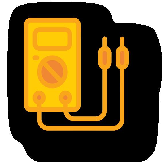icono electricidad y electrónica